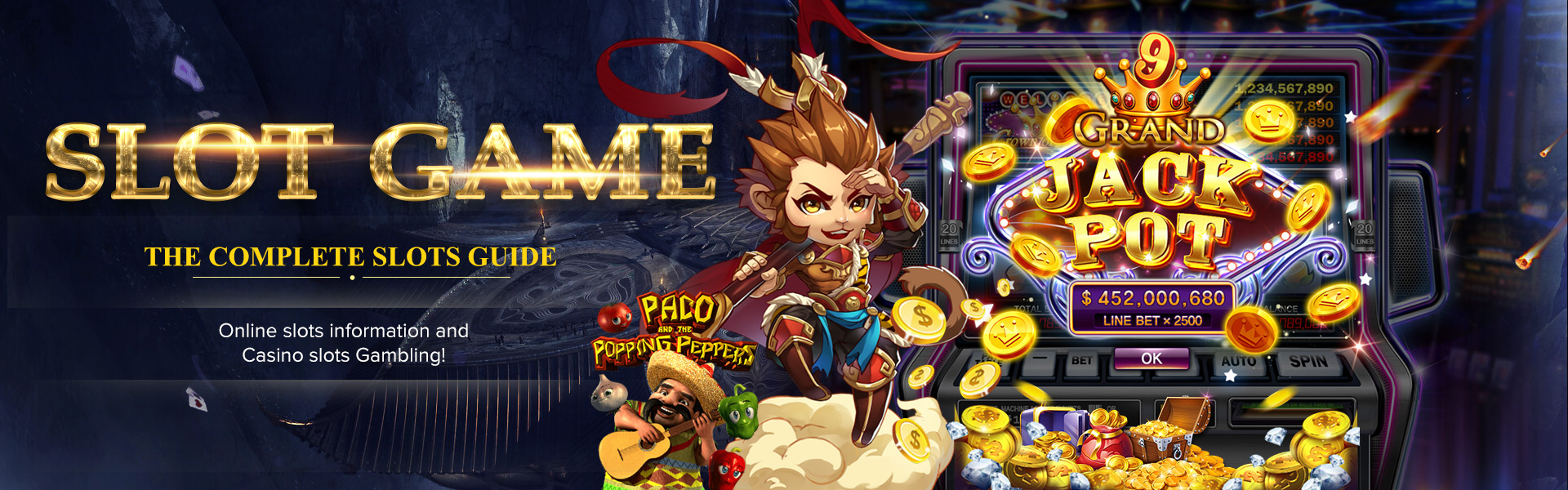 The best online slot gambling in Asia, the most complete online slots