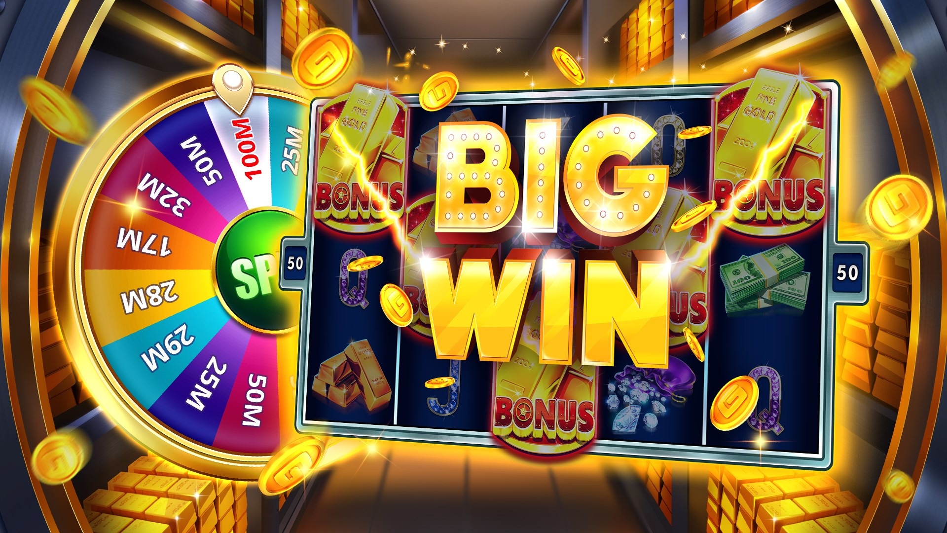 This is a Slot Game with a Jackpot on the Android Online Slot Site